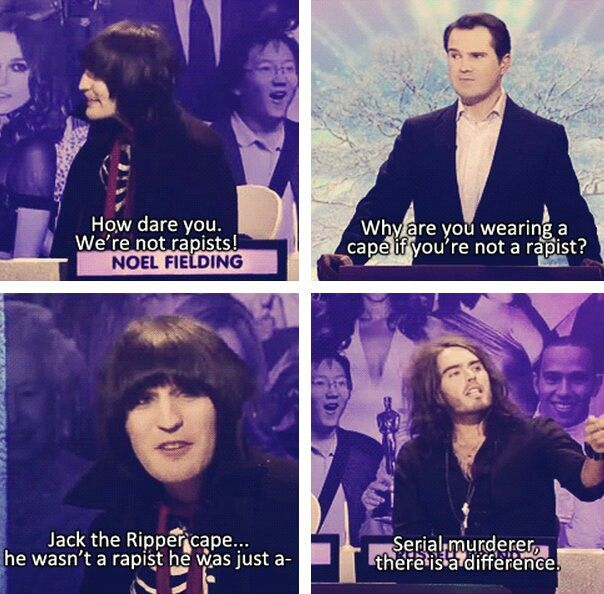 Noel Fielding and Russell Brand xD