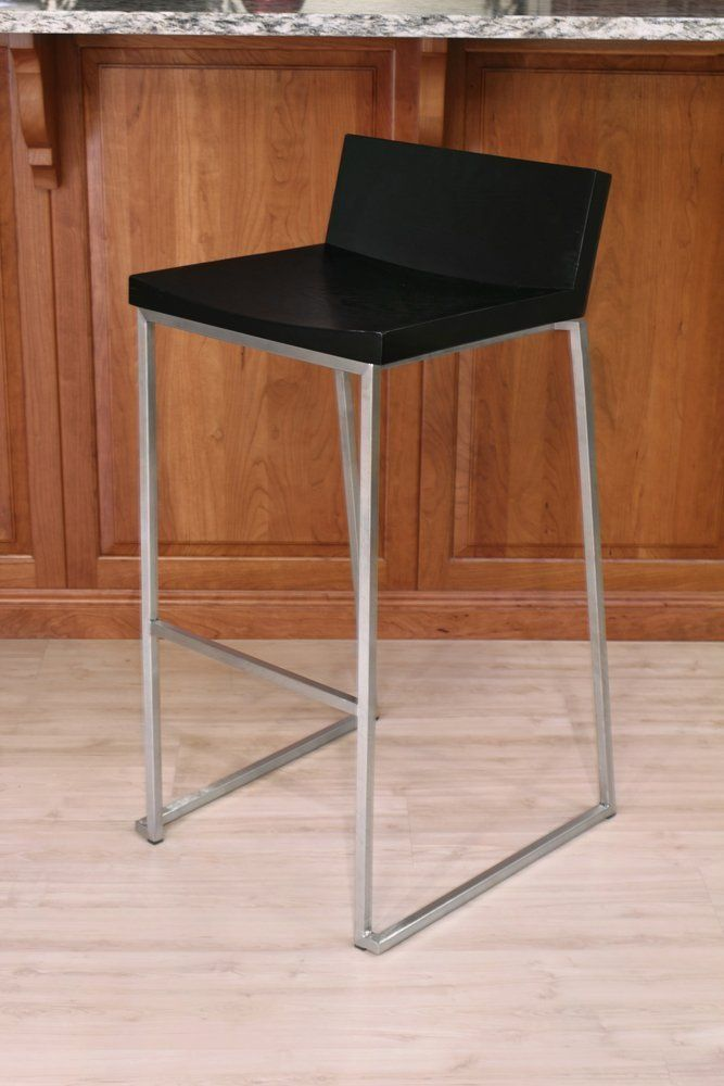 Amazon.com - LumiSource LLC Zenn Bar Stool - Barstools With Backs