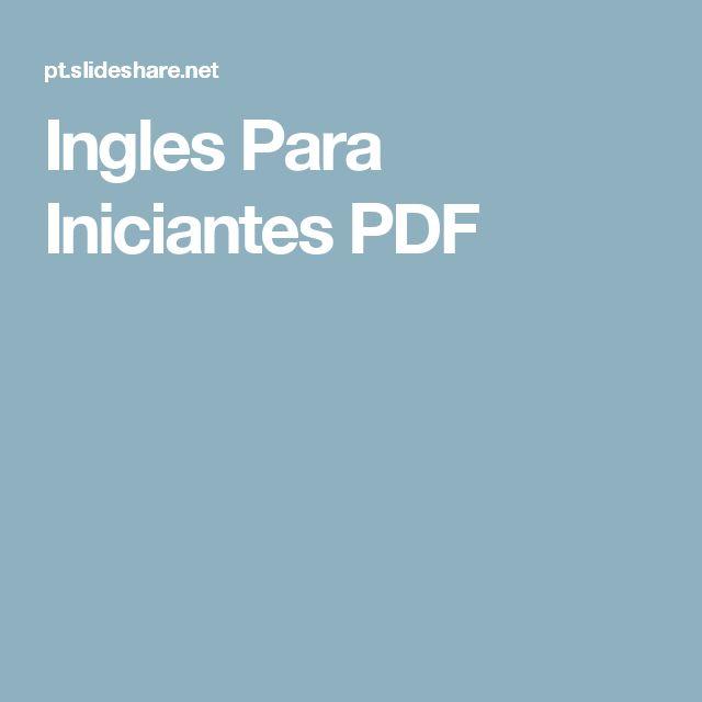 Ingles Para Iniciantes PDF