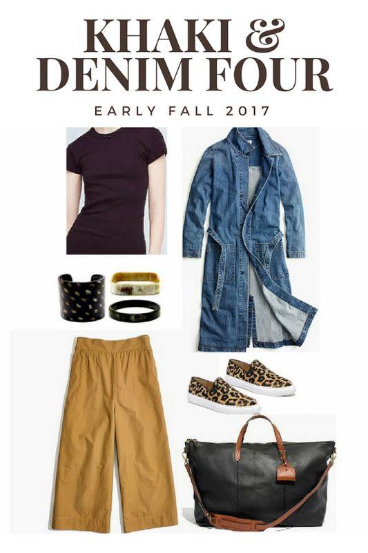 Khaki & Denim Early Fall Fashion-Rough Luxe Lifestyle