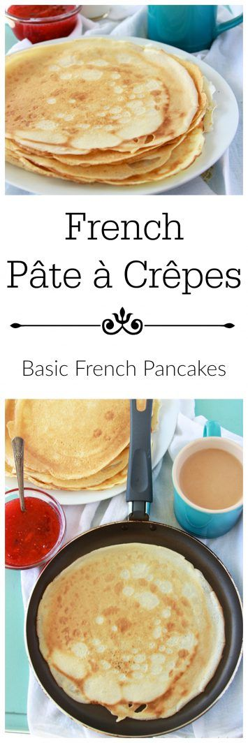 French Pâte à Crêpes ~ learning how to make crepes is easy, just takes a little know~how.