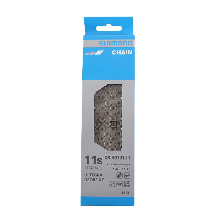 SHIMANO CN HG701 11S Speed Chain 116L Link for XT M8000 & Ultegra 6800 MTB Mountain Bike and ROAD Bicycle Part