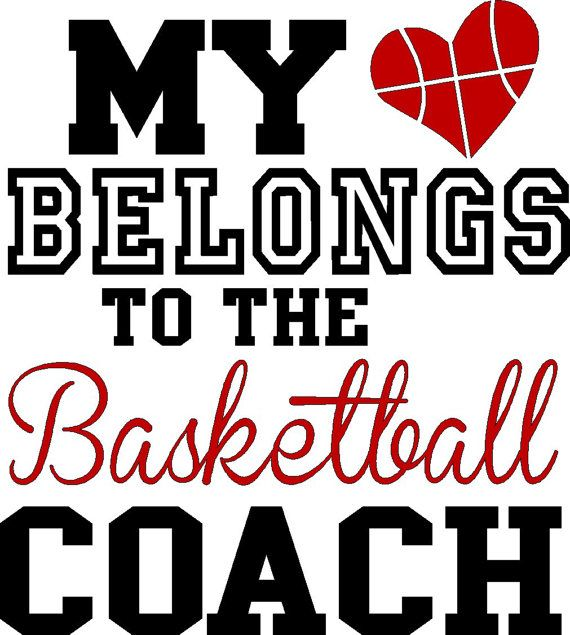 My heart belongs to the Basketball Coach, ORIGINAL DESIGN, raglan or tee, glitter accent upgrade included, basketball Wife