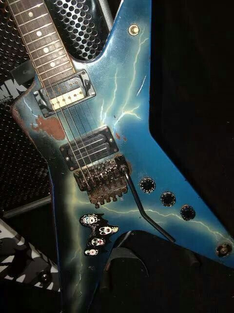 dimebag darrell 39 s dean from hell guitars i want pinterest. Black Bedroom Furniture Sets. Home Design Ideas