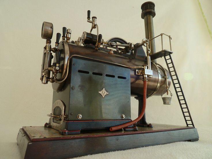 Große Bing Dampfmaschine , Lokomobil , steam engine , GBN , | eBay