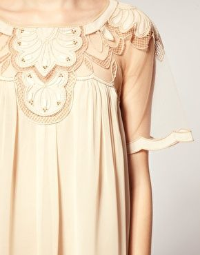 gorgeous: Art Nouveau, Pretty Details, Bridal Dresses, Bridesmaid Dresses, Swings Dresses, Trim Details, Gorgeous Details, Asos Swings, Lace Patterns