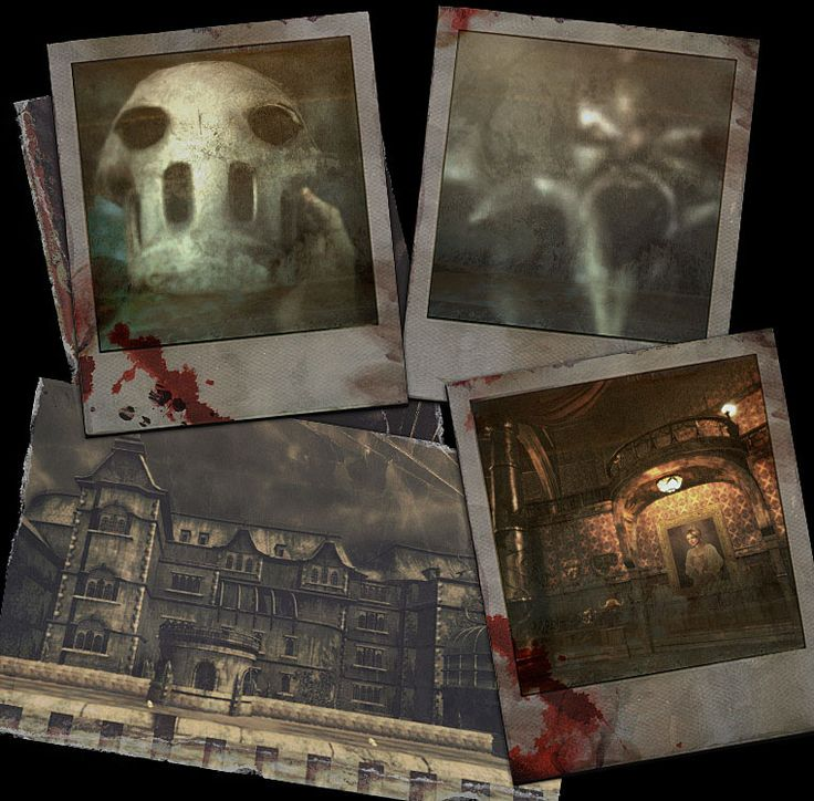 Menu design for 'Splatterhouse', for the PS3 and Xbox 360 Consoles.