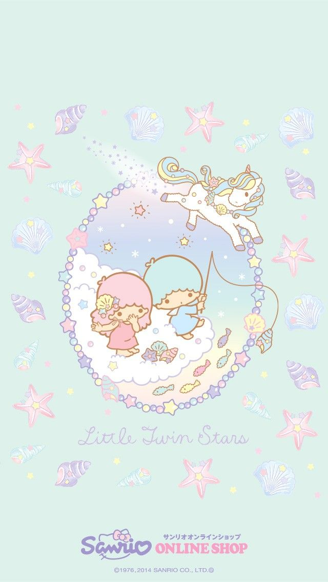 Little Twin Stars Wallpaper