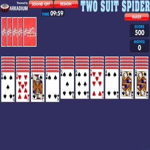 Solitario Spider 2 palos