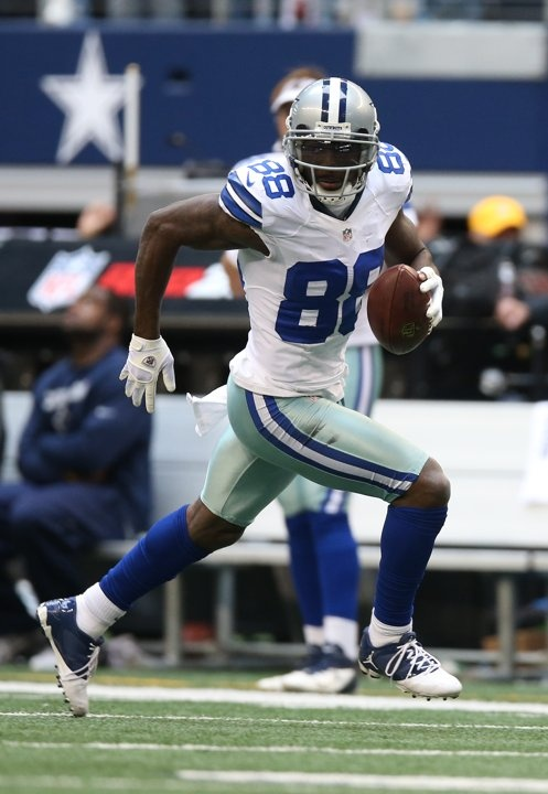 Dez go to target!!  NFL: New Orleans Saints at Dallas Cowboys (Dez Bryant)
