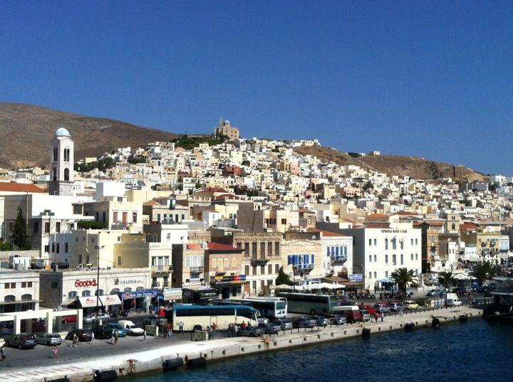 Λιμάνι Τήνου (TIN) Tinos Port in Τήνος, Κυκλάδες