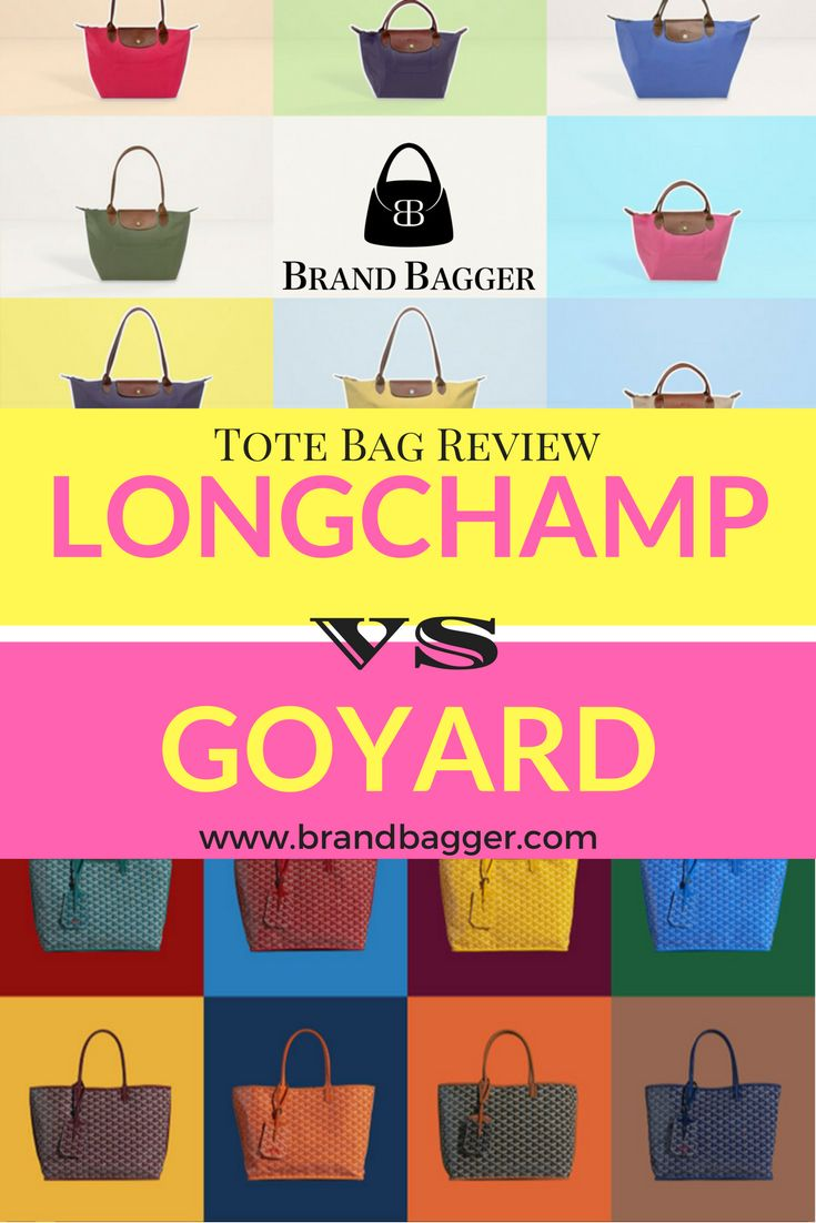 Tote bags are everywhere! But these two stood the test of time and never left the fashion scene. So what bag gets your vote? More in our blog!   www.brandbagger.com
