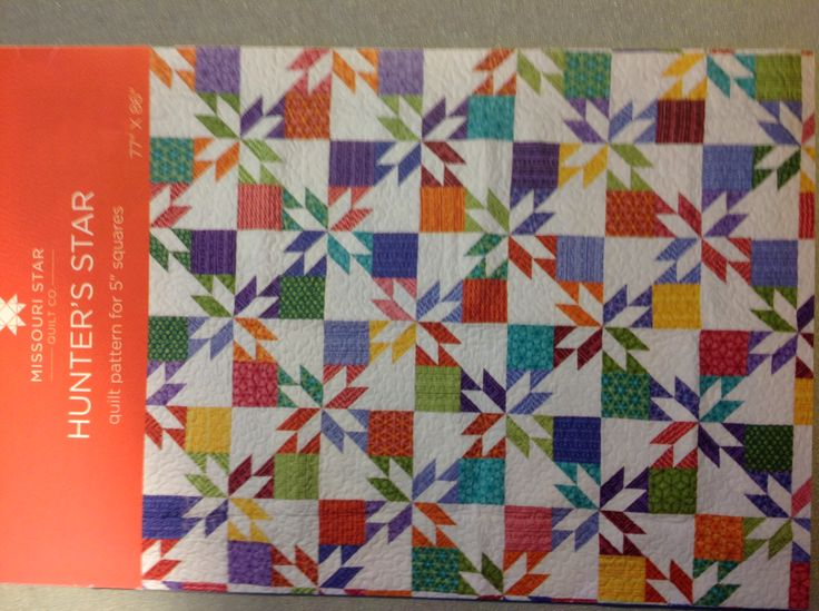 Hunter Star Pattern by Missouri Star Quilting