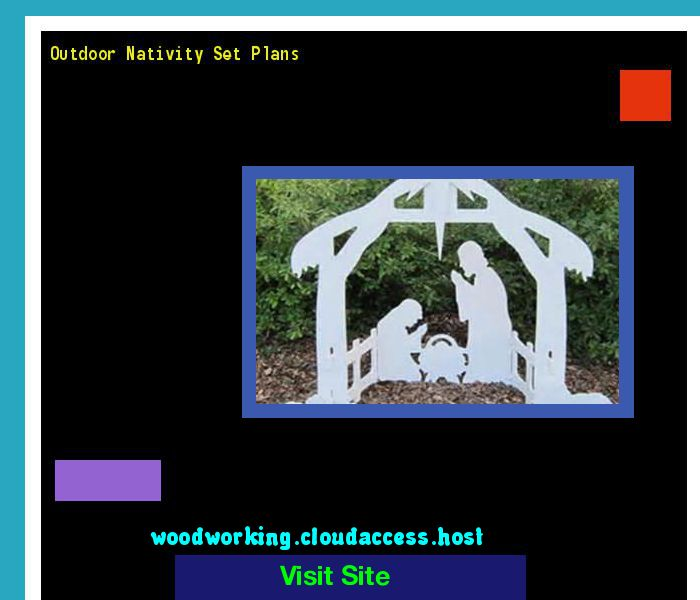 Outdoor Nativity Set Plans 154045 - Woodworking Plans and Projects!