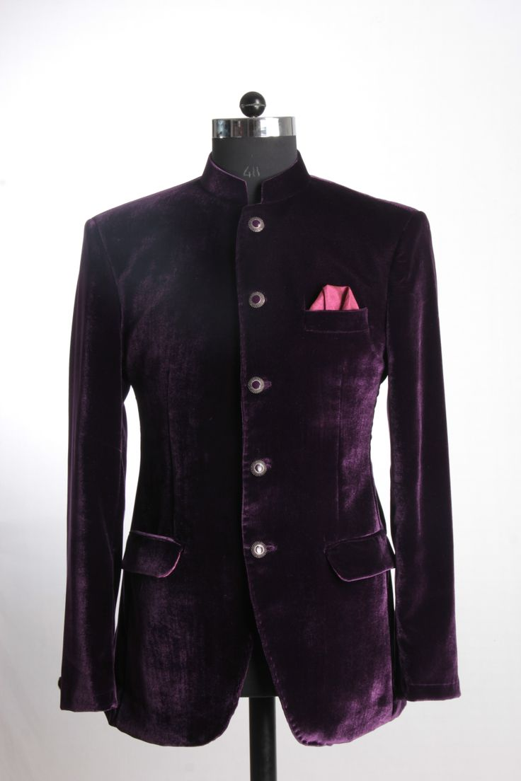 Velvet purple Jacket