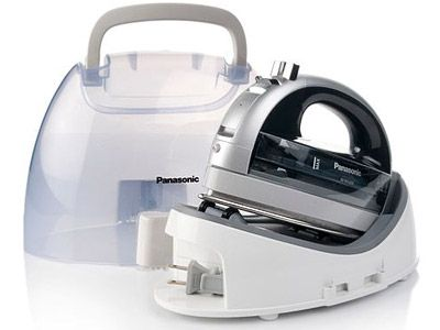 Panasonic NI-WL600 - Cordless 360° Freestyle Steam/Dry Iron with Curved Stainless Steel Soleplate - Overview