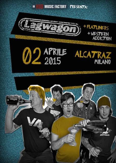 Lagwagon -  Milano, Alcatraz 02.04.2015 Voto 7