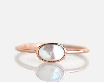 pearl ring, rose gold pearl ring, rose gold ring, pearl engagement ring, pearl engagement ring gold, pearl engagement ring rose gold