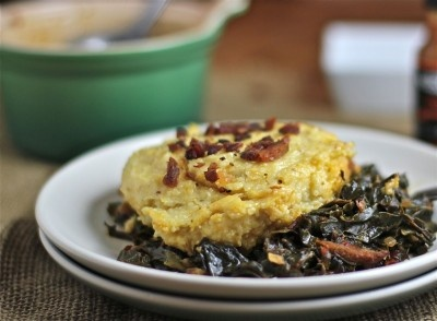 grits casserole 1 scandalously good grits and greens casserole the ...