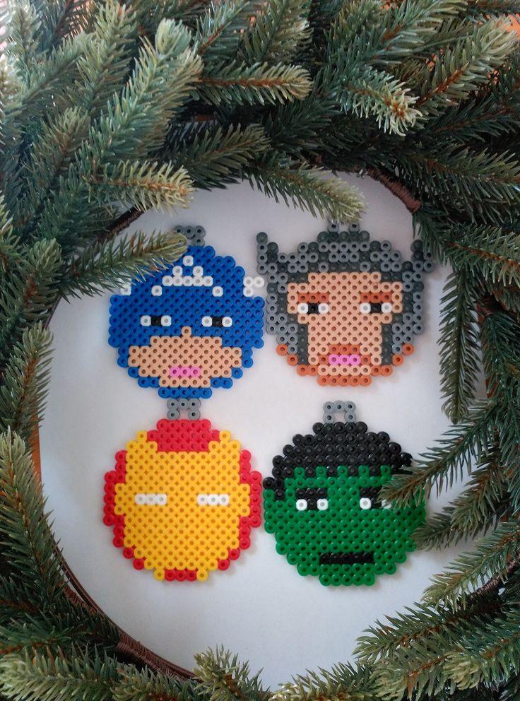 Pixel Art – Navidad II – Los Vengadores |
