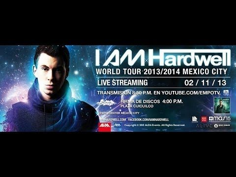 ▶ I AM HARDWELL MEXICO 2013 EMPO TV yeah