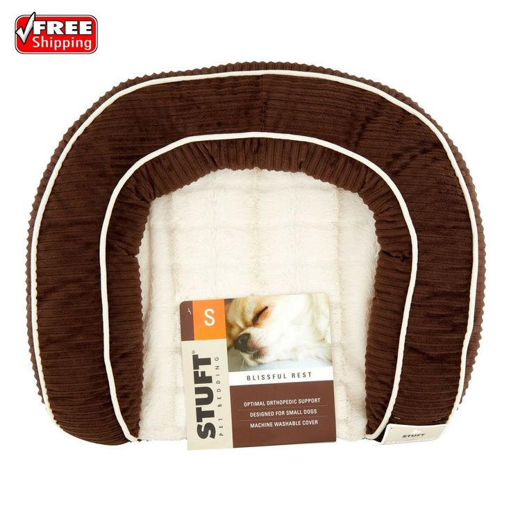 Stuft Blissful Rest Small Pet Bedding Small Orthopedic Support Dog Cat Bed | Pet Supplies, Dog Supplies, Beds | eBay!
