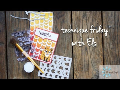 Technique Friday with Els - Chevron Background - YouTube