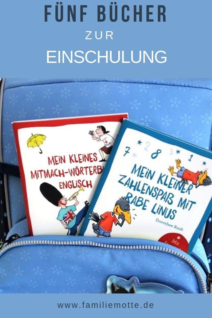 Die Motte Wird Ein Schulkind Funf Schone Bucher Zur Einschulung Mit Bildern Geschenk Einschulung Einschulung Schulkinder