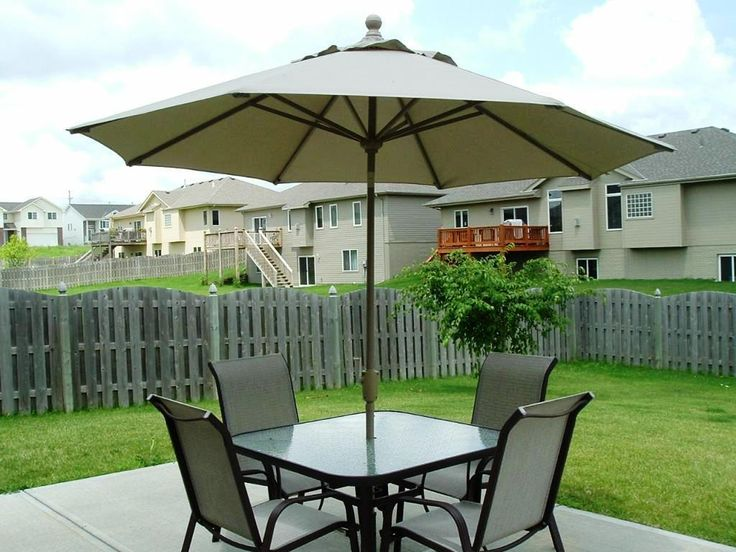 Free Standing Umbrellas For Patio