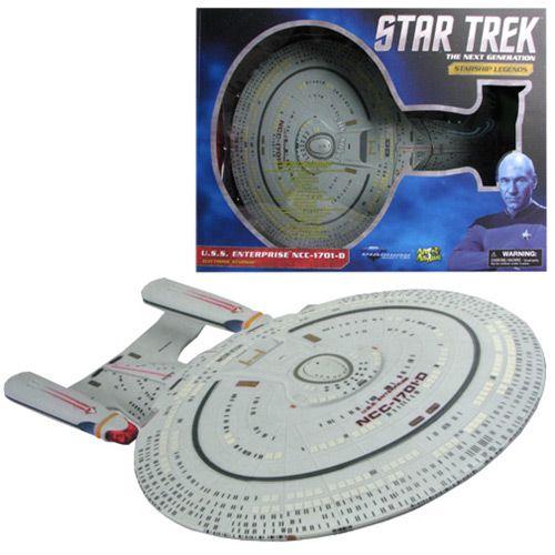 Star Trek The Next Generation Enterprise NCC-1701-D Ship - Diamond Select - Star Trek - Vehicles at Entertainment Earth