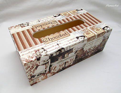 HomeArt / Chocolat servítkovník