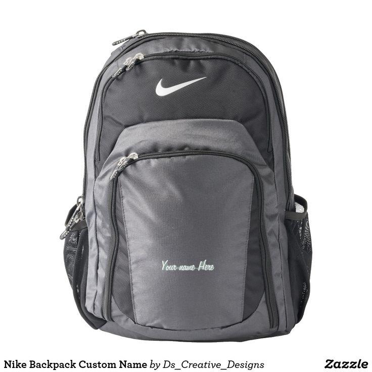 Nike Backpack Custom Name