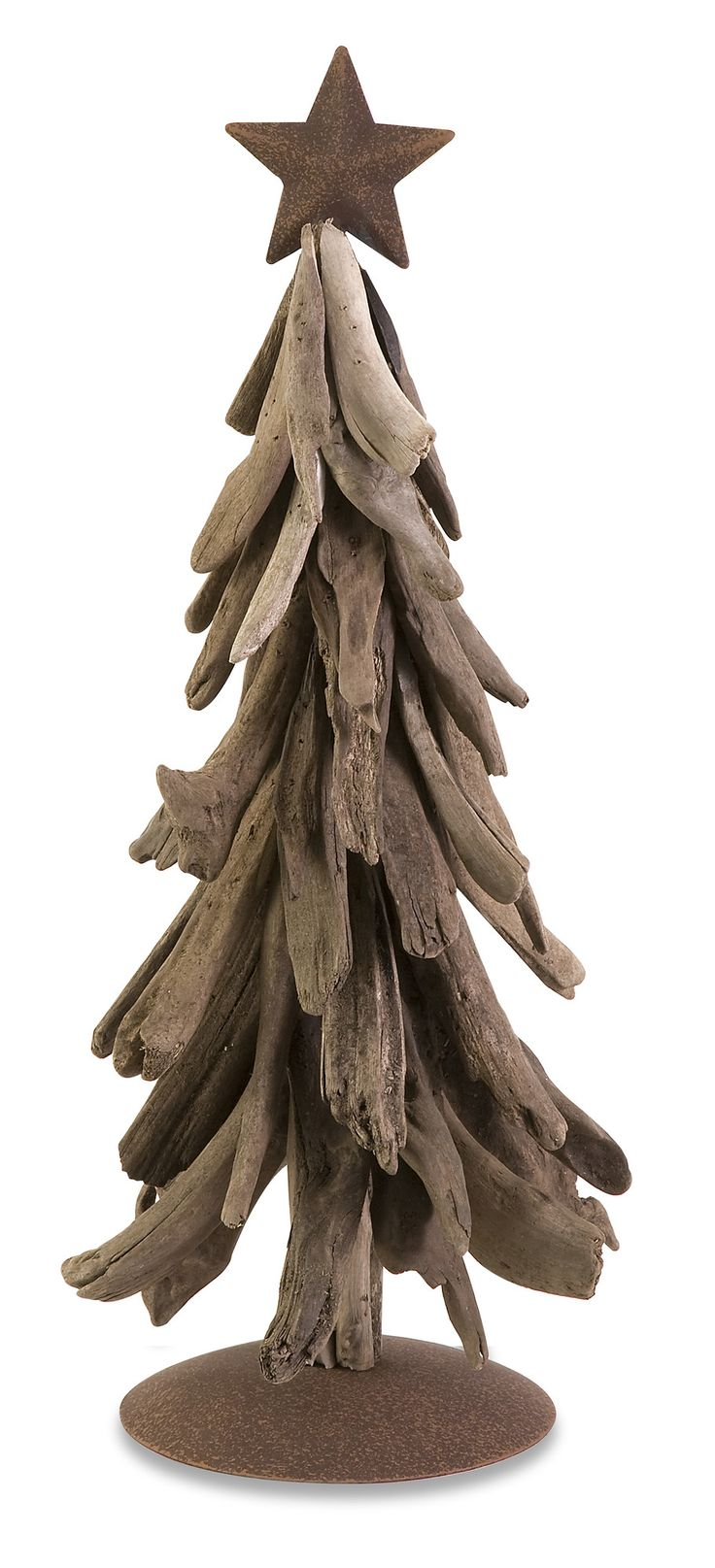 Xmas tree decorations - Imax Woodland Driftwood Christmas Tree Lovely