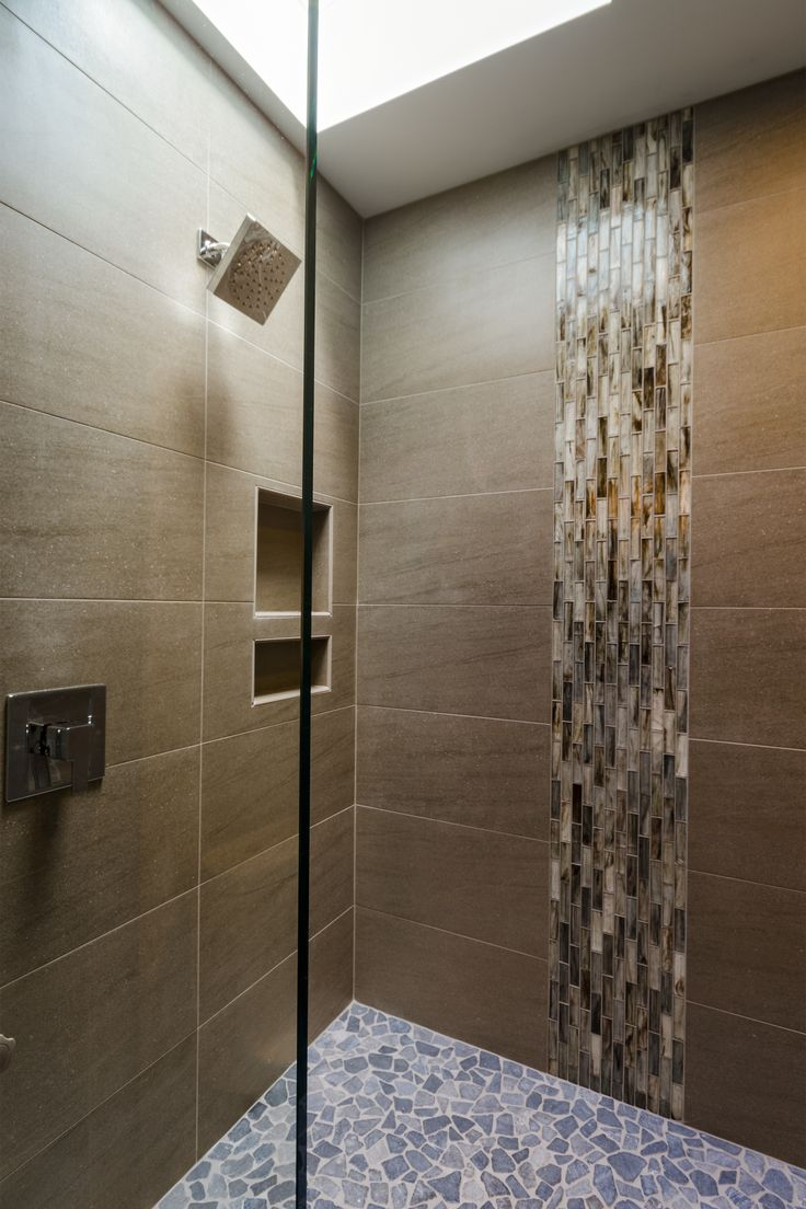 Vertical Tile For The Waterfall Effect Bathroom Ideea Pinterest The Waterfall Tile And