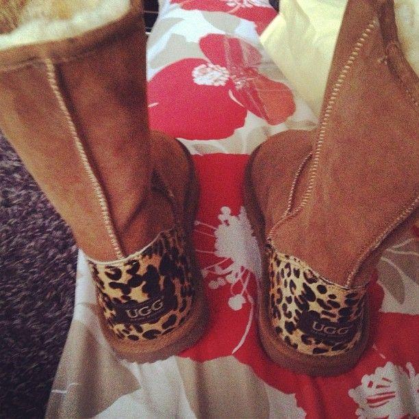 Leopard Uggs. Christmas present!!