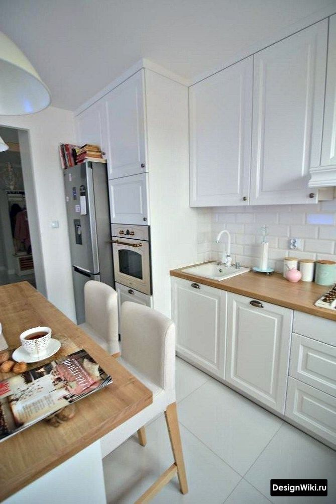 Кухня в стиле Неоклассика: 101 фото (белая, серая, голубая ...