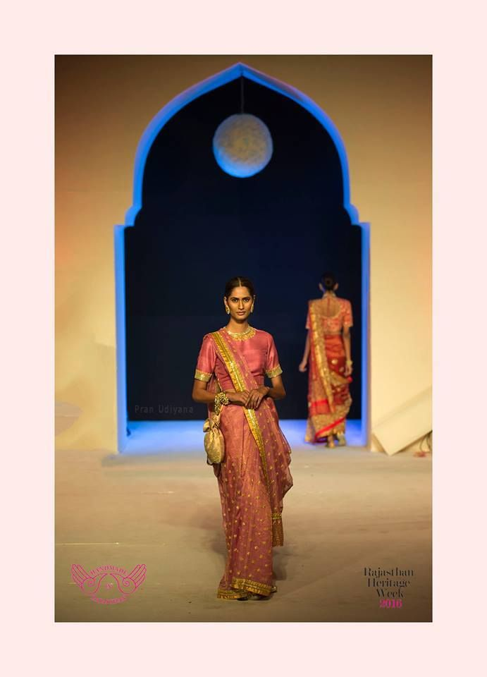 Mharo Des Collection - The pink city captures this simply elegant pink kota by Vidhi Singhania.