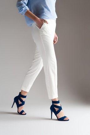 Milla by trendyol · Ayakkabı & Aksesuar - Saks Mavi Süet Topuklu Ayakkabı  3305 sadece 79,99TL ile Trendyol da