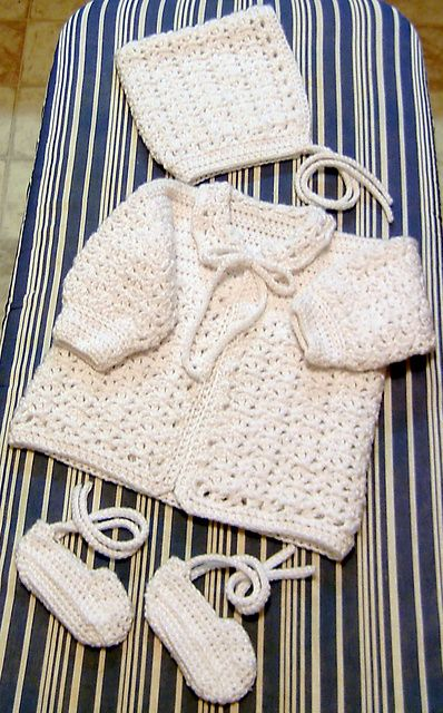 V-stitch set by Carole Prior... free pattern