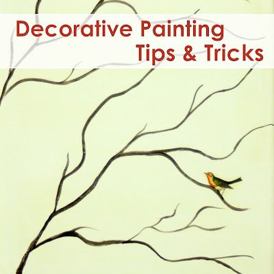 Decorative Painting Tips & Tricks