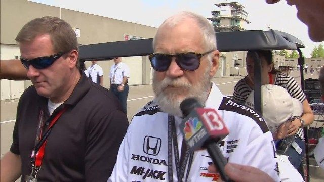 Eyewitness Sports caught up with team owner and former talk show host David Letterman, who was donning his now-famous retirement beard | WTHR-13