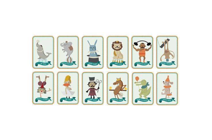 Circus Board Game on Behance