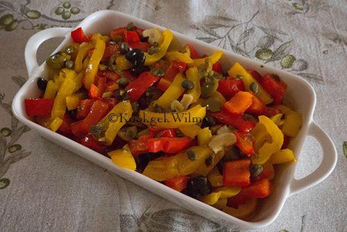 Als bijgerecht vinden wij gegrilde groenten, zoals courgette of aubergine altijd erg lekker. En makkelijk, want je kunt het van tevoren klaarmaken en warm of koud eten. Ik doe deze gerechten ook va…