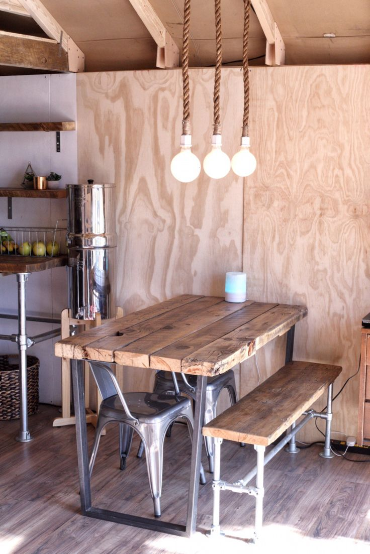 Barn wood table - Gl&ing -Industrial table - Canvas Tent - Wall tent - Full time tent living - Tiny home - Tiny house - minimalism - tiny living - Modern ... & The 25+ best Living in a tent ideas on Pinterest | Once up a time ...
