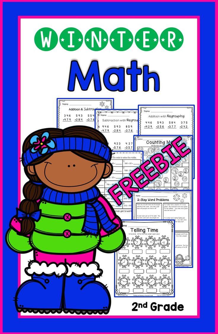 Calendar Math Ideas Nd Grade : Best winter images on pinterest teaching resources