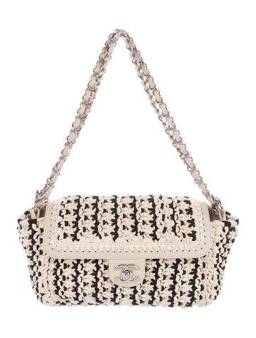 8ad1cf9a217d Crochet Accordion Flap Bag | DIY | Bags, Chanel, Leather weaving