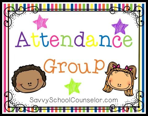 Attendance Group - Savvy School Counselor