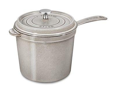 Staub Cast-Iron Saucepan #williamssonoma