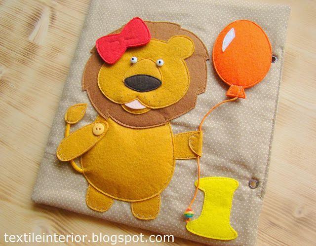 "Lion  textileinterior: Developing a booklet ""Rainbow"" Upgrade"