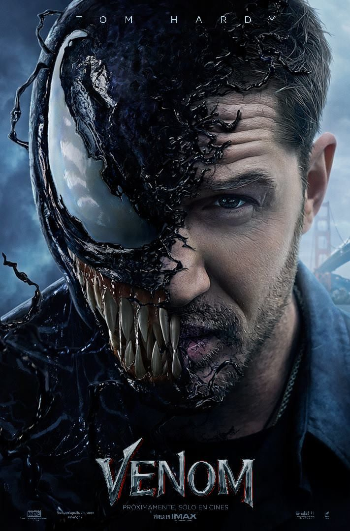 Venom Tom Hardy Poster Marvel Movie Posters Pinterest